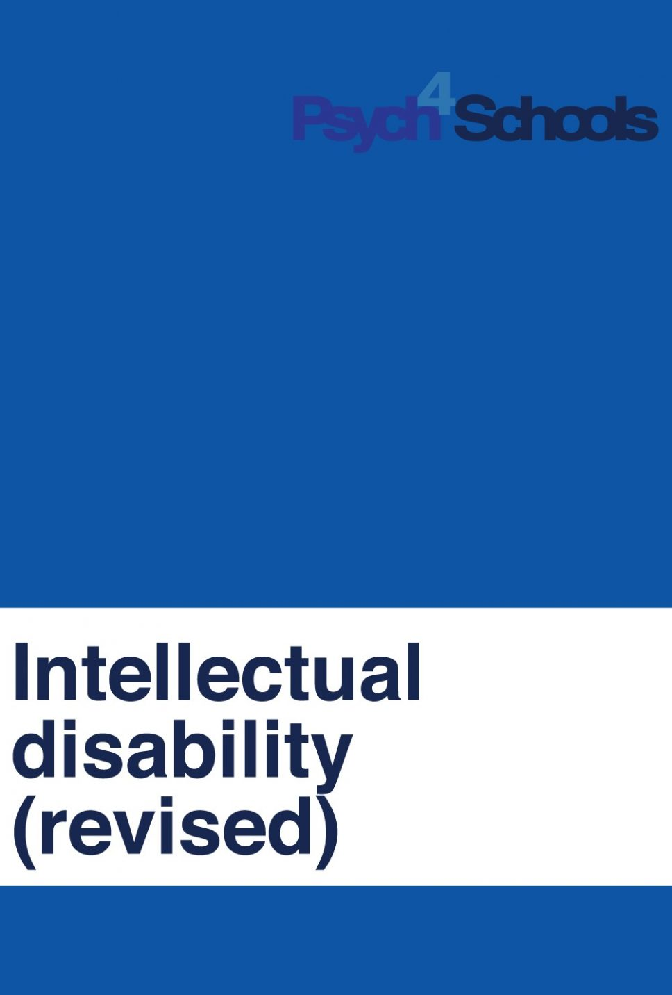 intellectual disability revised psych4schools