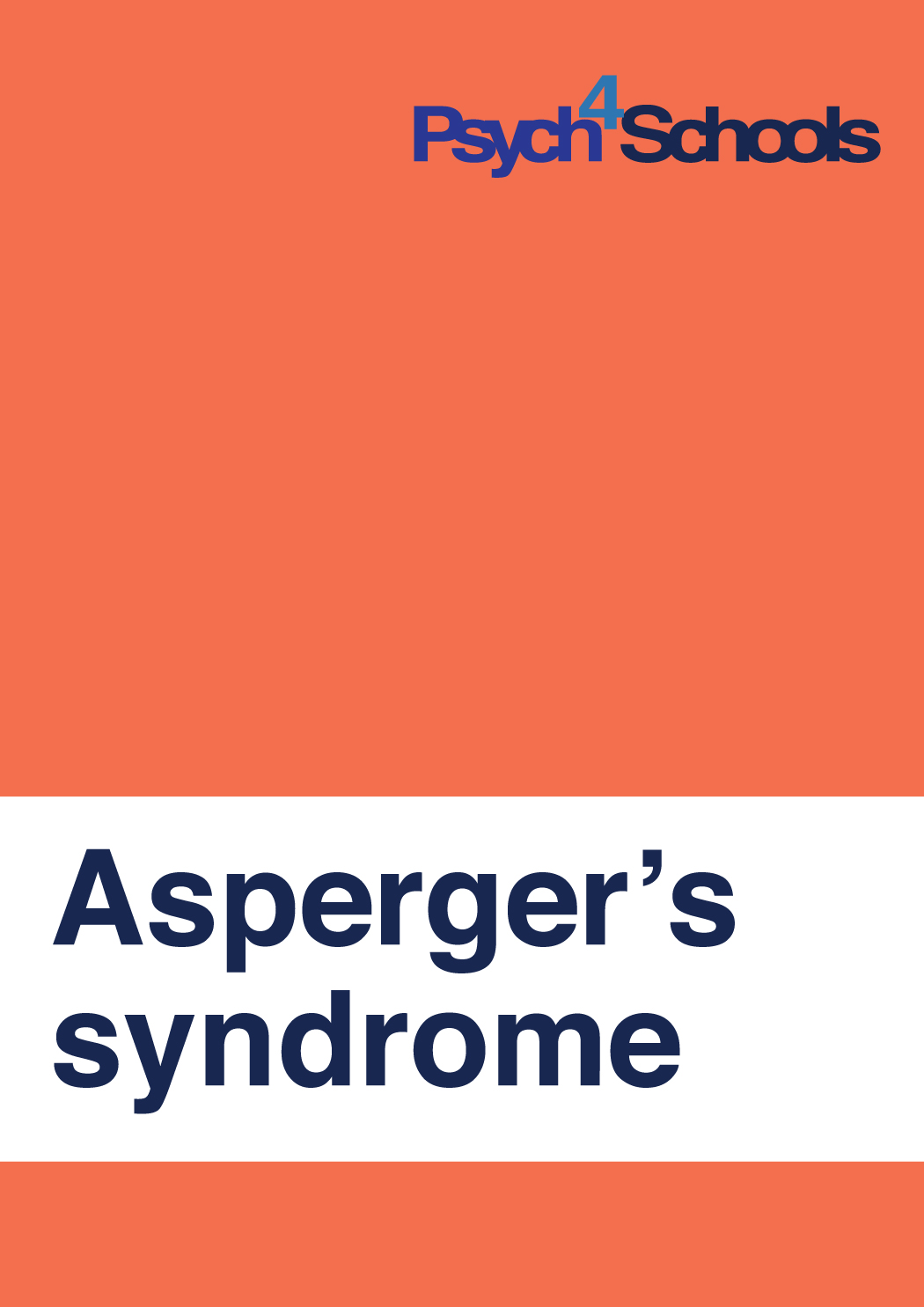 Asperger's Syndrome - Free Resources - Psych4Schools