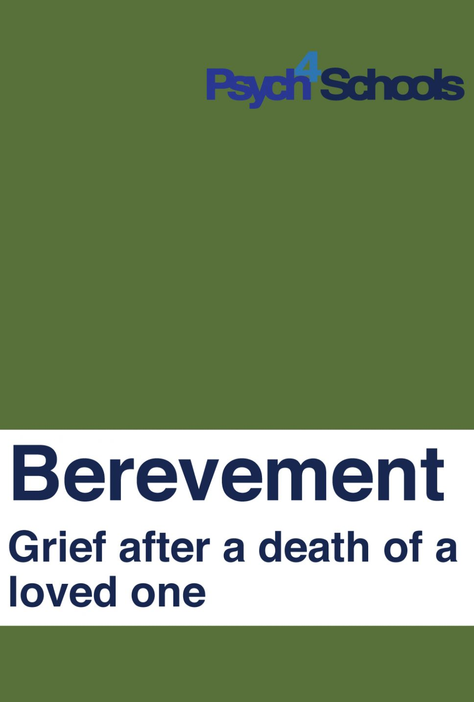 BEREVEMENT