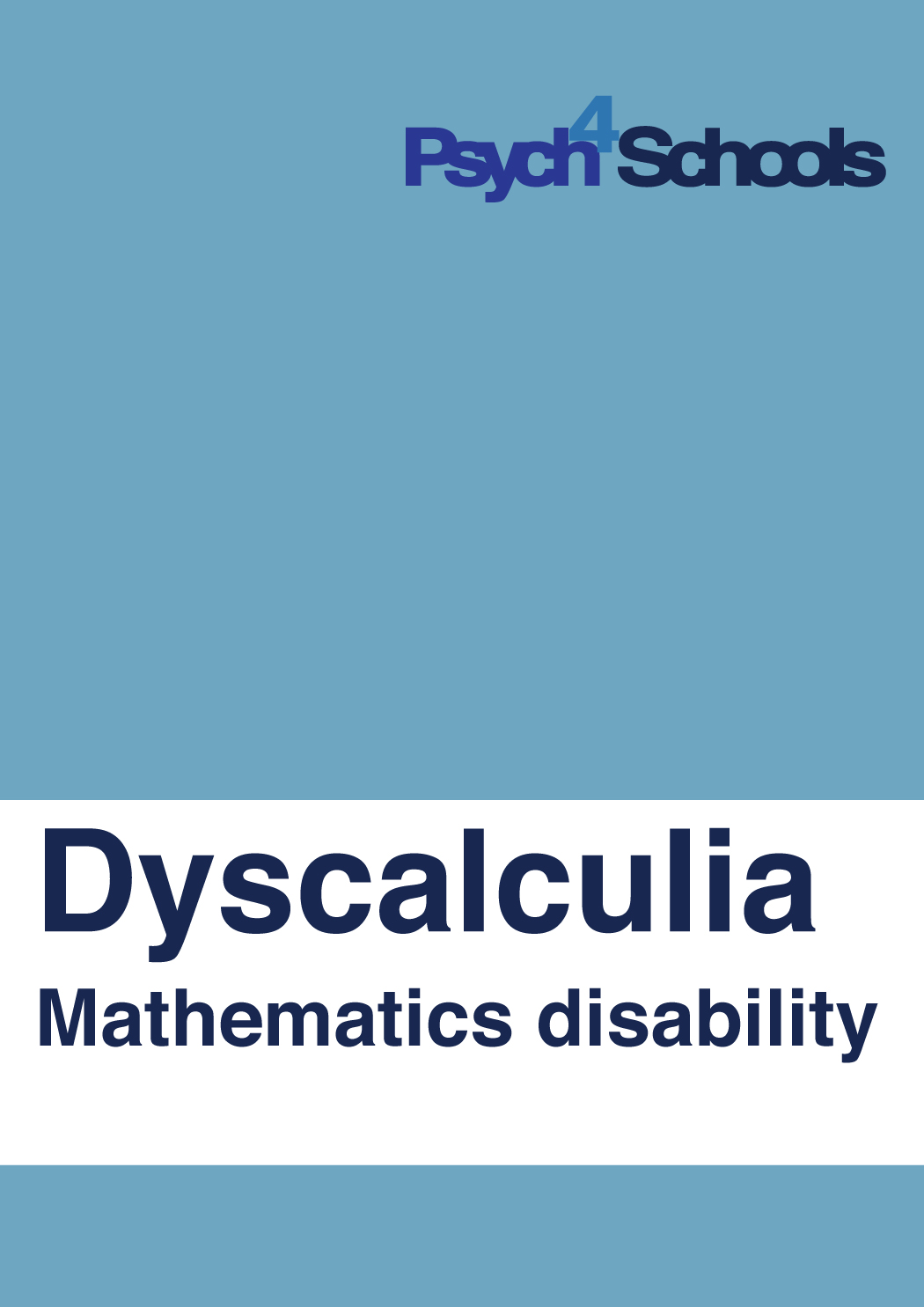 Dyscalculia - Free Resources - Psych4Schools