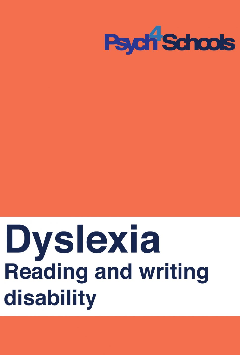 Dyslexia - Free resource - Psych4Schools