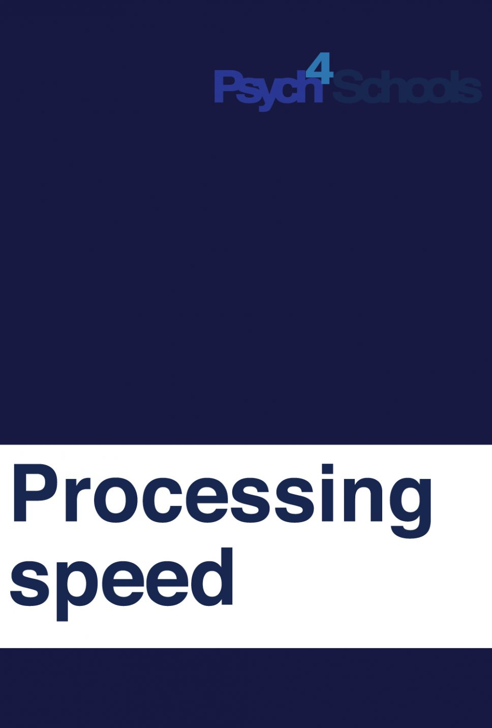 PROCESSING-SPEED