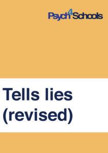 tell lies